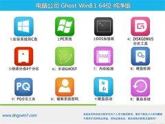 电脑公司Windows8.1 企业纯净版64位 2021.04